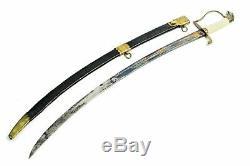 1812 American Infantry Officer's Eaglehead Sword Eagle Head Pre Civil War Sword