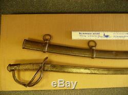 1840 CIVIL War Sword Sheble & Fisher Philad. Wristbreaker
