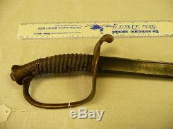 1850 CIVIL War Sword
