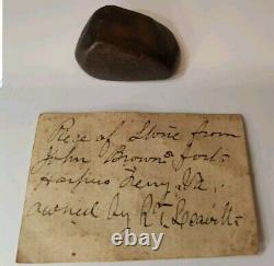 1859 Harpers Ferry Va Gun Raid Artifact Abolitionist John Brown Pre CIVIL War