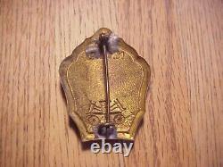 1860-1865 Civil War Era NYFD New York City Fire Dept. Engine Company 38 Badge 23