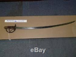 1860 CIVIL War Sword -roby & Co