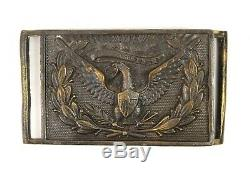 1861-65 Civil War Officer's Belt Buckle Complete withBeautiful Patina