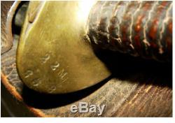 1862 Ames Navy Cutlass w Rare Scabbard & Frog Civil War