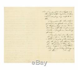 1862 Civil War Confederate Letter Crescent Regiment (Louisiana) Before Shiloh