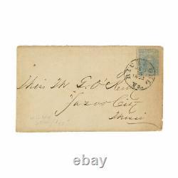 1862 Confederate Civil War Officer Letter Barksdale's Brigade Fredericksburg