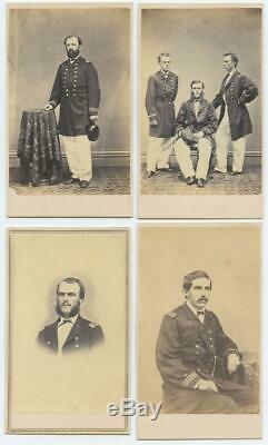 1863 U. S. Naval Academy Class Of 1865 CDV Photo Album CIVIL War Newport R. I