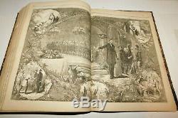 1864 Harper's Weekly Civil War Newspapers Full Year Bound Volume