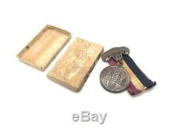 1865 Civil War West Virginia Honorably Discharged soldier medal withoriginal box