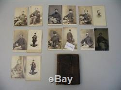 2nd Mass Infantry Militia Civil War CDV Photo Soldiers cdii