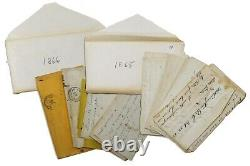 47 Letters 2 Journals 129th PA Inf Civil War Lincoln Assassination Booth Autopsy