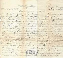 5 Civil War Letters 46 Illinois Many Wounded at Shiloh Jawhawkers Capture 300