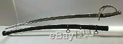 American CIVIL War M1840 Officer's Cavalry Sword Signed W. H. Horstmann Very Rare