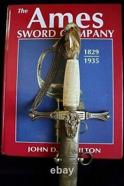 American Mexican War CIVIL War Presentation Grade High Officer Sword C 1840-48