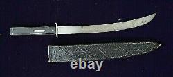 American Mexican War CIVIL War Samuel Jackson Bowie Knife Ebony & Silver Grip