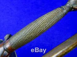 Antique 19 Century US Civil War Horstmann Marine USMC NCO Sword