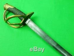 Antique 19 Century US Civil War Model 1840 German Made Cavalry Sword