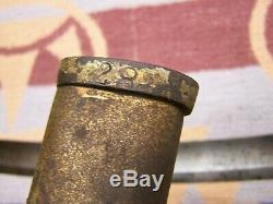 Antique Artillery Sabre AMES MODEL 1840 ARTILLERY SWORD Civil War A. D. K. 1854