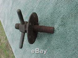 Antique Cannon Elevating Tool Civil War Dug New Hope Church Area Near Atlanta GA