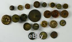 Antique Civil War Coat Button (Dug)