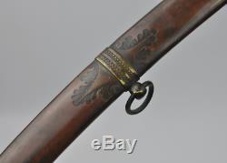 Antique Eagle Head Sword Artillery Civil War Officer's Saber