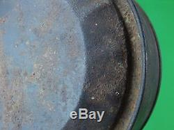 Antique Old 19 Century US Civil War Water Flask Canteen Canister