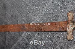 Antique Original Rare US Civil War Confederate Artillery Sword Knife