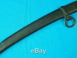 Antique US Civil War Artillery Sword Scabbard