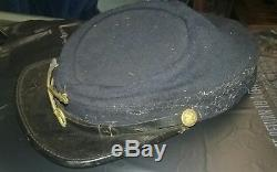 Authentic 1884 Indian Wars Union Soldiers Hat GF Foster Son & Co. Post Civil War