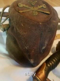 Authentic Original Civil War Indian Wars Kepi CIVIL WAR HAT CAP 6 A
