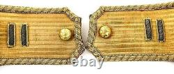 Awesome Fresh To Market CIVIL War Artillery Officer Epaulets & Insignia