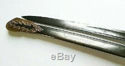 CIVIL War 1850 Staff & Field Officer Presentation Grade Unmarked Sauerbier Sword