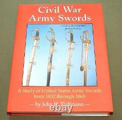 CIVIL War Army Swords Us Ames Collins Tiffany Officer Nco Saber Reference Book