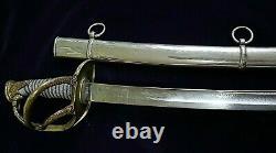 CIVIL War Cavalry Presentation Sword To Lieut Alex M Guthrie Dated 9- 8 -1863