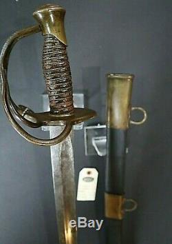 CIVIL War Confederate B. Douglas Of Columbia South Carolina Cavalry Sword C 1861