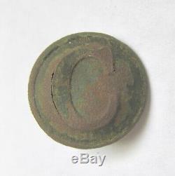 CIVIL War Confederate Cavalry Coat Button Vicksburg