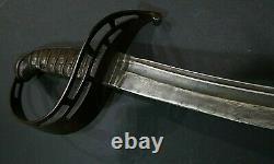 CIVIL War Confederate Rare 3rd Model Virginia Manufactory Cavalry Saber Sword