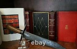 CIVIL War Confederate Rare Large 16 5/8 Bowie Knife Not Sword Ca 1861