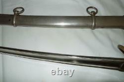 CIVIL War Emerson & Silver Cavalry Sword Model 1840. Dated 1861