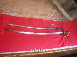 CIVIL War Era Model 1840 Heavy Cavalry Wristbreaker Saber Sword (import)