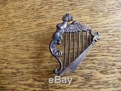 CIVIL War Era New York Irish Brigade Soldiers Harp Hat Insignia