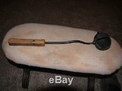 CIVIL War Ladle. For Casting Lead Monroes Patent June 14 1864. Amazing Piece