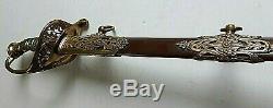 CIVIL War M 1850 High Officer Virgil Price New York Presentation Grade Sword