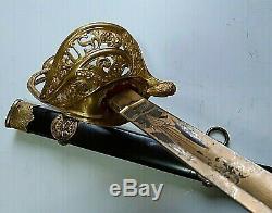 CIVIL War M 1850 Staff & Field General Presentation Clauberg High Grade Sword