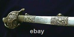 CIVIL War M 1850 Staff & Field Officer Presentation Sword Lieut James Fog 1862