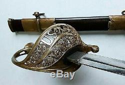 CIVIL War M 1850 Staff & Field Officer Sword By Schuyler Hartley & Graham Ny