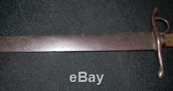 CIVIL War. Mexican American. Fighting Sword. D Ring. Found In Texas. Very Rare