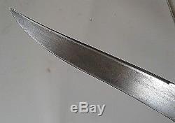 CIVIL War Period American Knife Not Sword Dagger MID 19th Century Ca 1850-63
