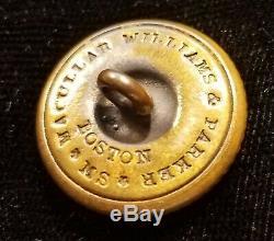 CIVIL War School Button Virginia Military Institute Albert# Su-408-ty Rare Back