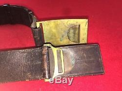 CIVIL War Sword Plate Eagle Buckle And Belt Rock Island Arsenal Marked